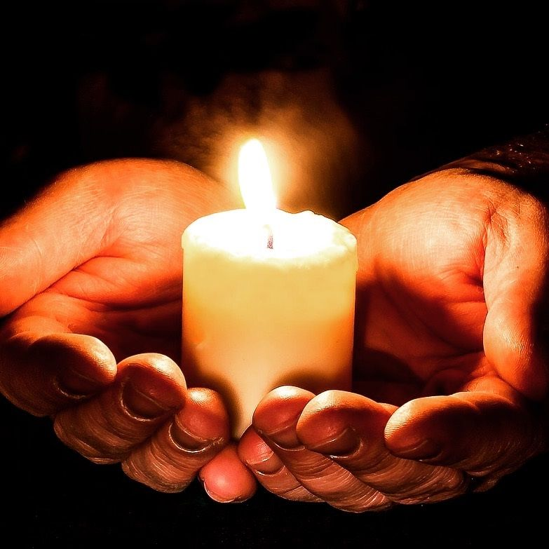 Light a candle for hope